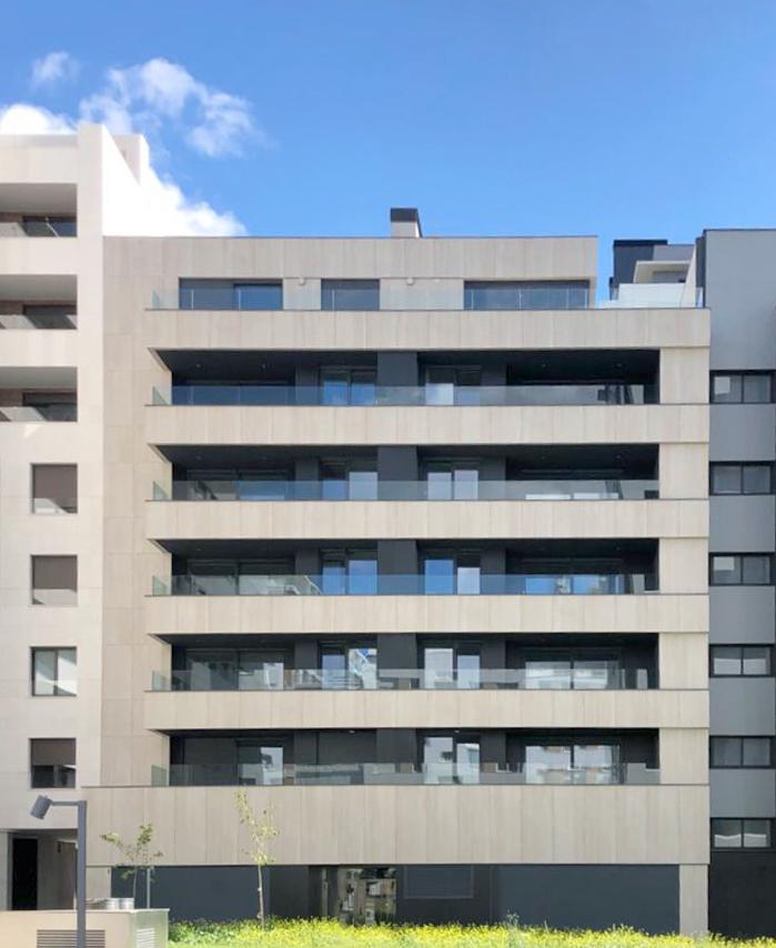 fachada ventilata cyme pamplona